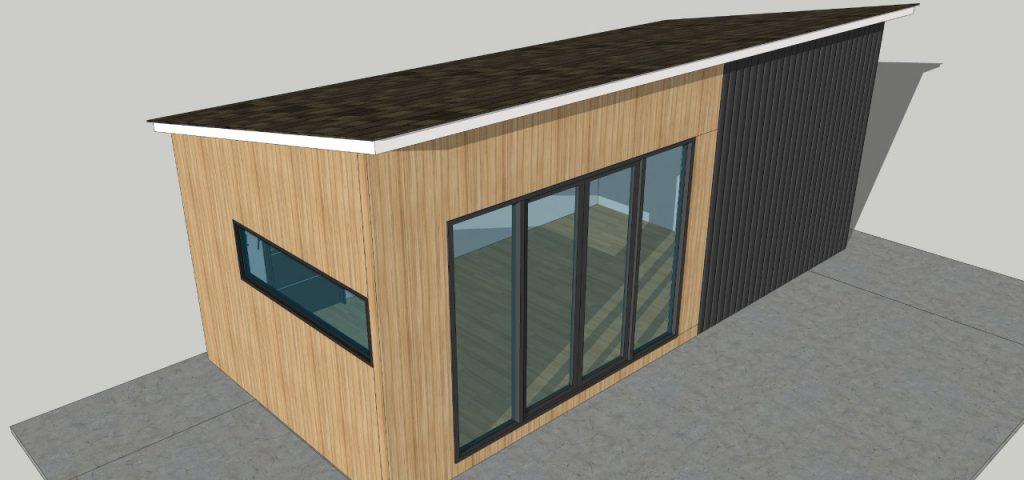 precast concrete modular office pod